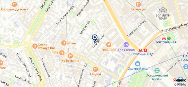ЭЛАРП на карте