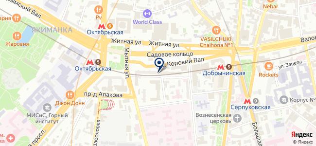 НОМАКОНТ на карте