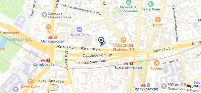 ЛилиЛайт на карте