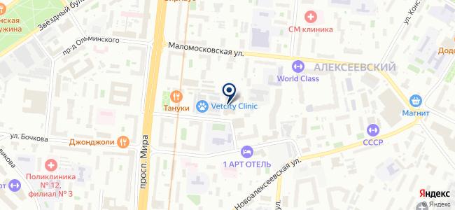 Энертекс на карте