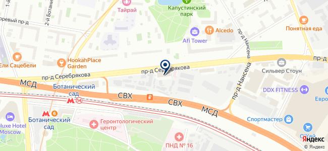ИНДУСТРИЯ-СЕРВИС, ЗАО на карте
