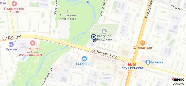 Дарвена, ООО на карте
