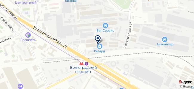 Электроскандия Рус на карте