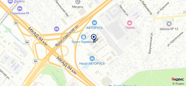 Магазин светотехники и электропродукции на карте