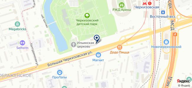 Москабелькомплект, ЗАО на карте
