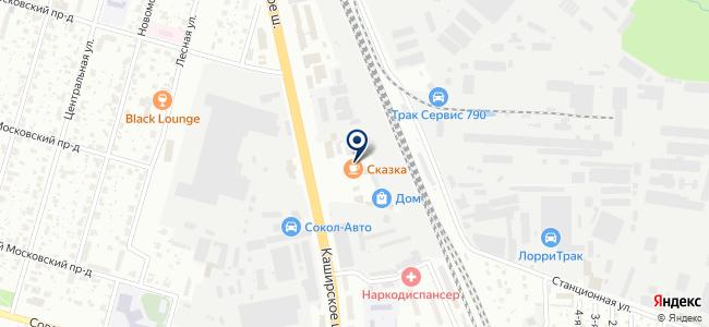 АКваэЛ на карте