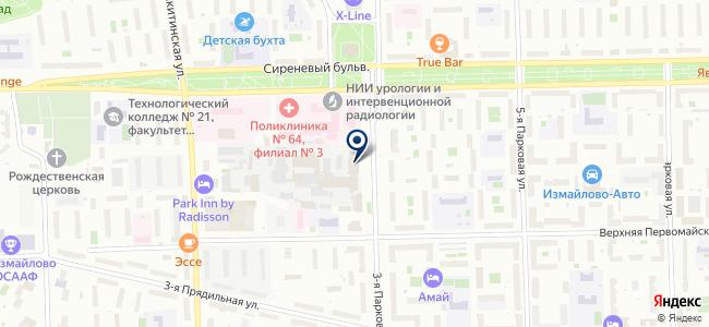 Комплексные решения, ЗАО на карте