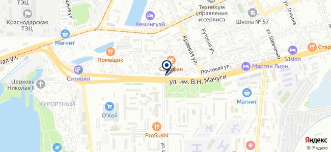 Магазин инструментов на карте