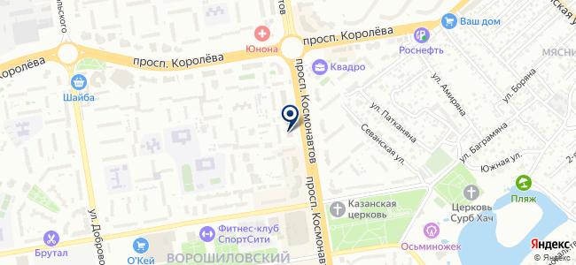 АЭМ Ростов, ООО на карте