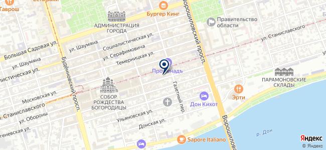 Магазин электротехники на карте
