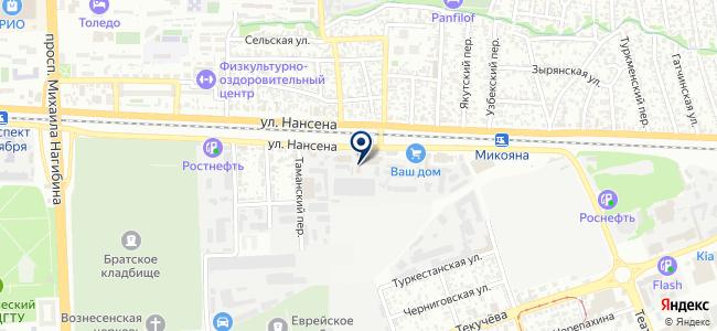 ЮгСпецСвязь, ООО на карте