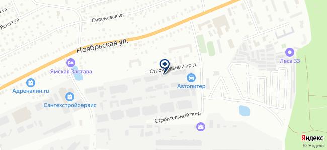 Агреман-Владимир, ООО на карте