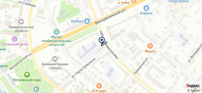 АрхЛес-сервис, ООО на карте
