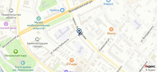 Отделстрой, ОАО на карте