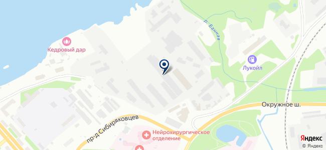 Универсал-Техно на карте