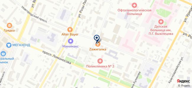 Форум-Нева, ЗАО на карте