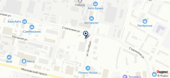 Электротехснаб, ЗАО на карте