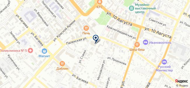 Abalon на карте