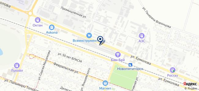 Академия инструмента на карте