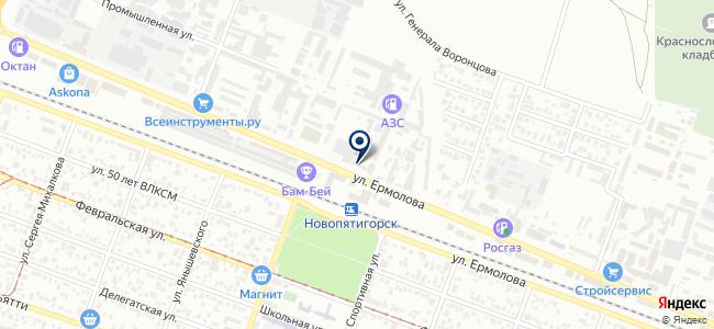 Гарант-КМВ на карте