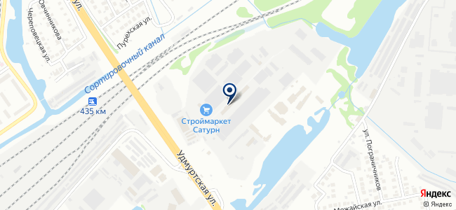 Акватория тепла на карте