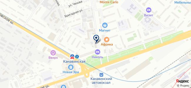 Комстрой на карте