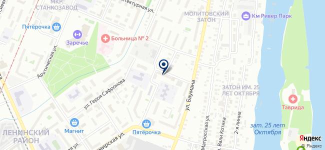 Ага-сервис на карте