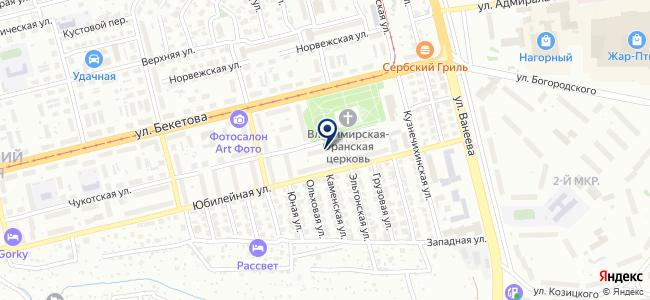 АДЛ-НН на карте