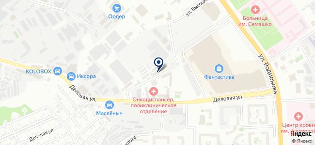 Летучка Винтика и Шпунтика на карте