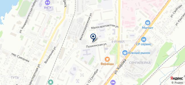 Симбтехресурс, ООО на карте