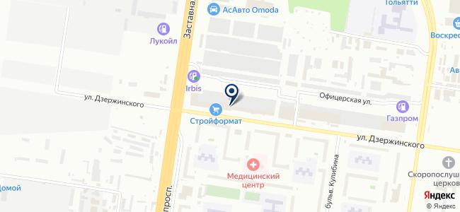 Акватеплосервис на карте