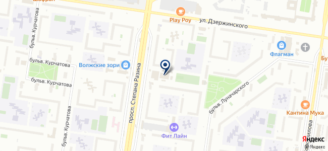 Магазин светотехники на проспекте Степана Разина, 9а к1 на карте