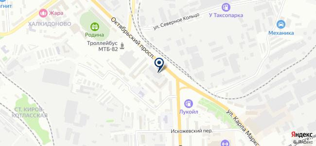 Абрис, ООО на карте