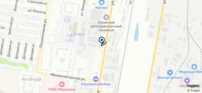 Волгоуралспецэнергомонтаж на карте