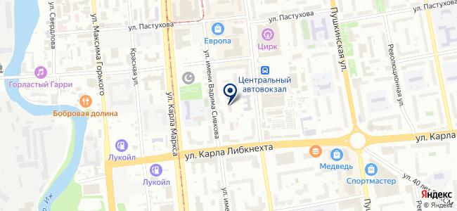 Союз-Элемент на карте