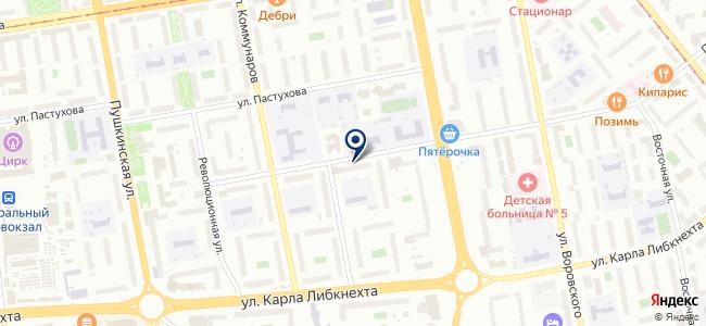 НИПИнефть, ОАО на карте