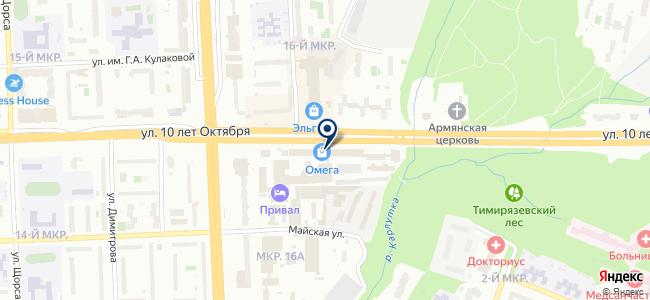 НеоСтрой18 на карте