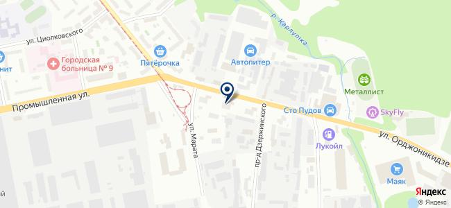 Аист, ООО на карте