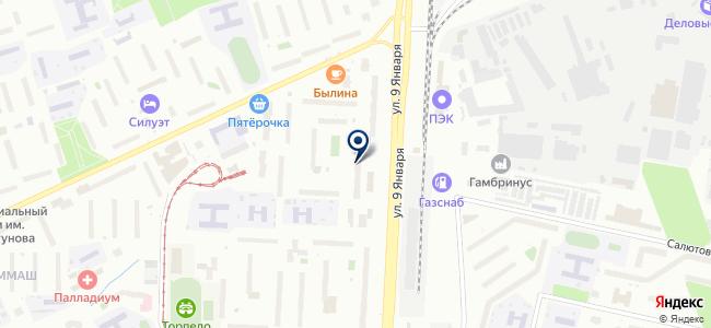 СервисГрупп, ООО на карте