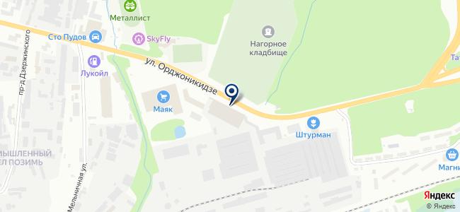 ОПС-Сервис на карте