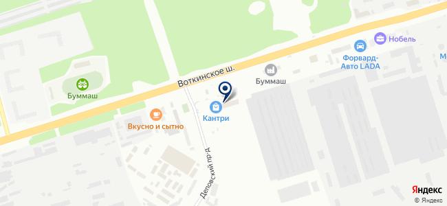 Ижэлектромир на карте