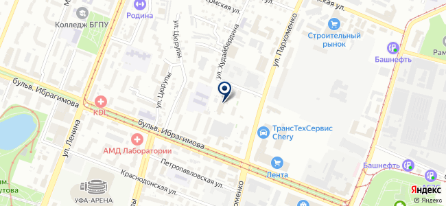 Байтим, ООО на карте
