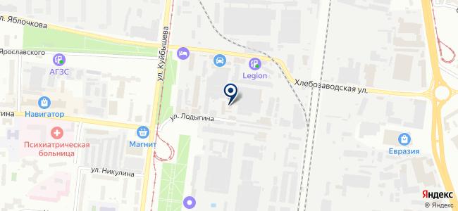 Аэро Лтд на карте