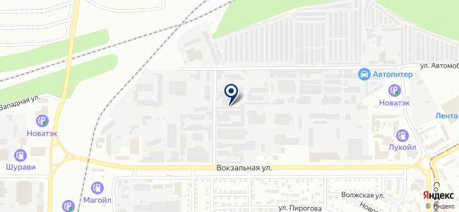 АСК СтройУралОпт на карте