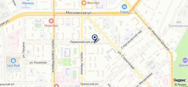 ДомКом на карте