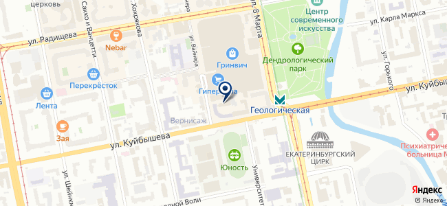 Софит-лайт, ООО на карте