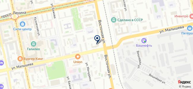 АЭРОПРОФ, ЗАО на карте