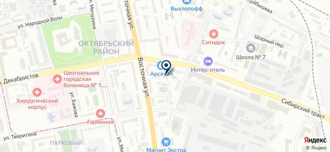 АктивРемСтрой, ООО на карте