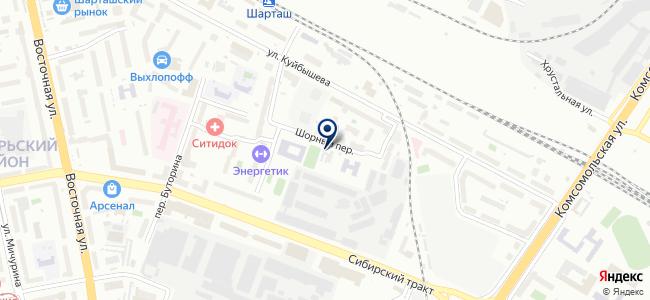 Аир, ООО на карте