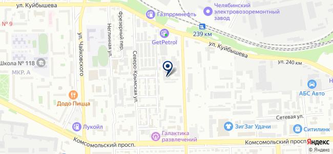 Абисмал, ООО на карте